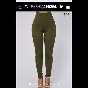 High waisted fashion nova jeans
